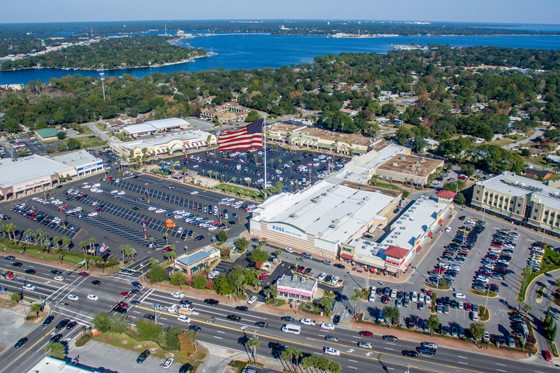 Fort Walton Beach Retail Shopping Delpopment from The Jay Odom Group.